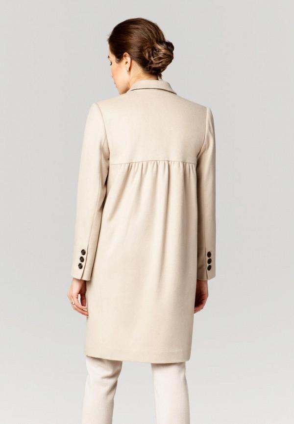 Фото 3 - Женское пальто или плащ Ummami бежевого цвета