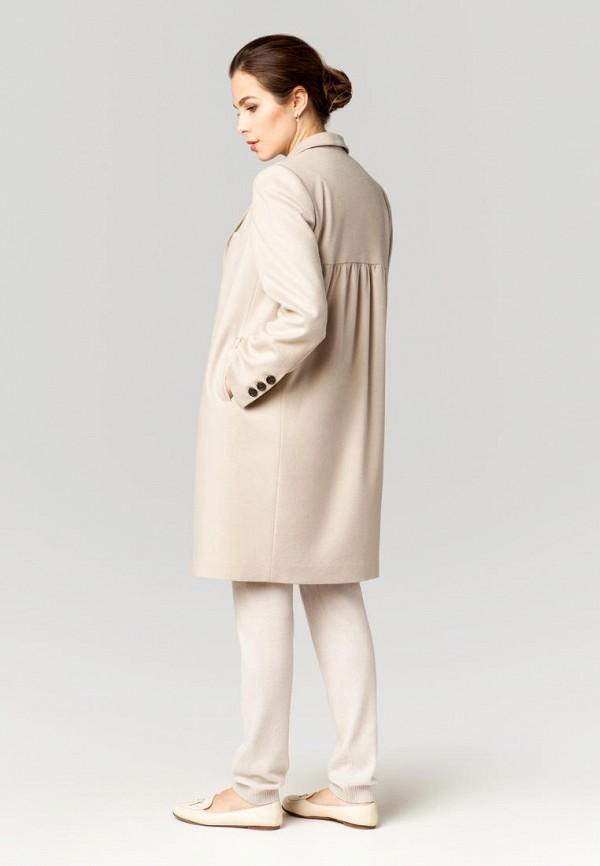 Фото 4 - Женское пальто или плащ Ummami бежевого цвета