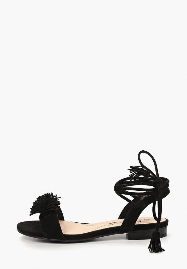 женские сандалии pierre cardin, черные