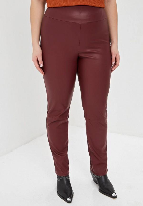 женские брюки lavira, бордовые