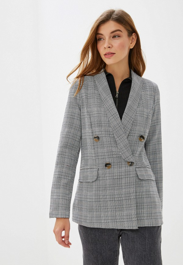 женский пиджак elardis, серый