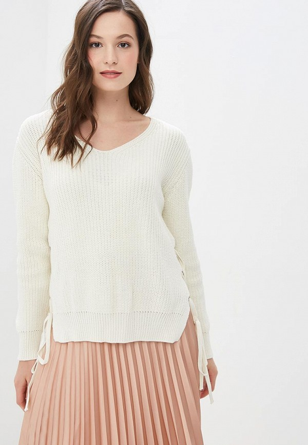 женский пуловер jj wear, белый