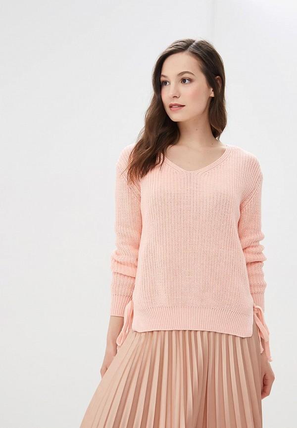 женский пуловер jj wear, розовый