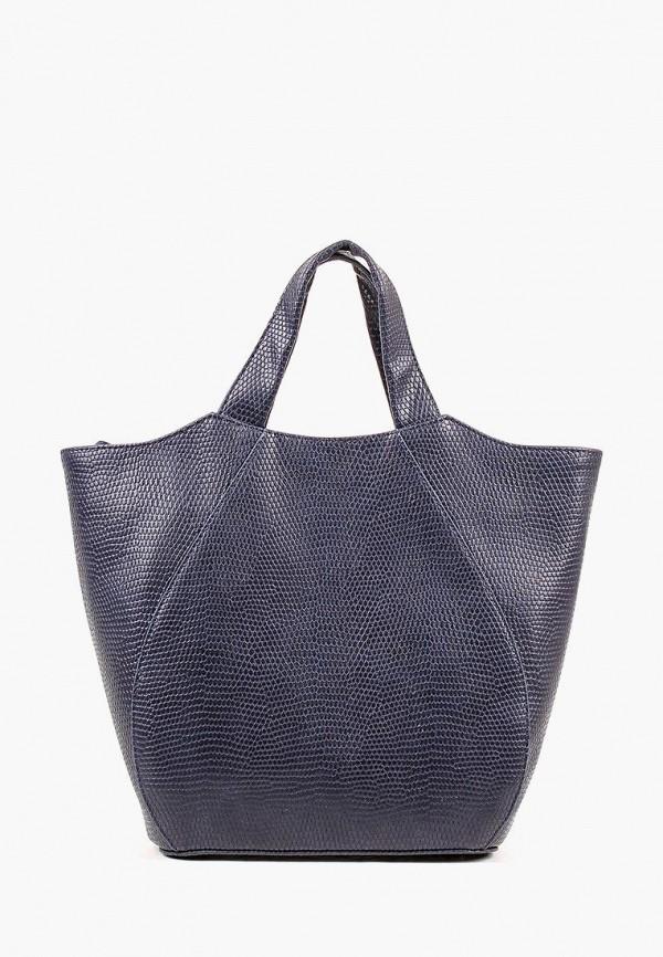 женская сумка медведково, синяя