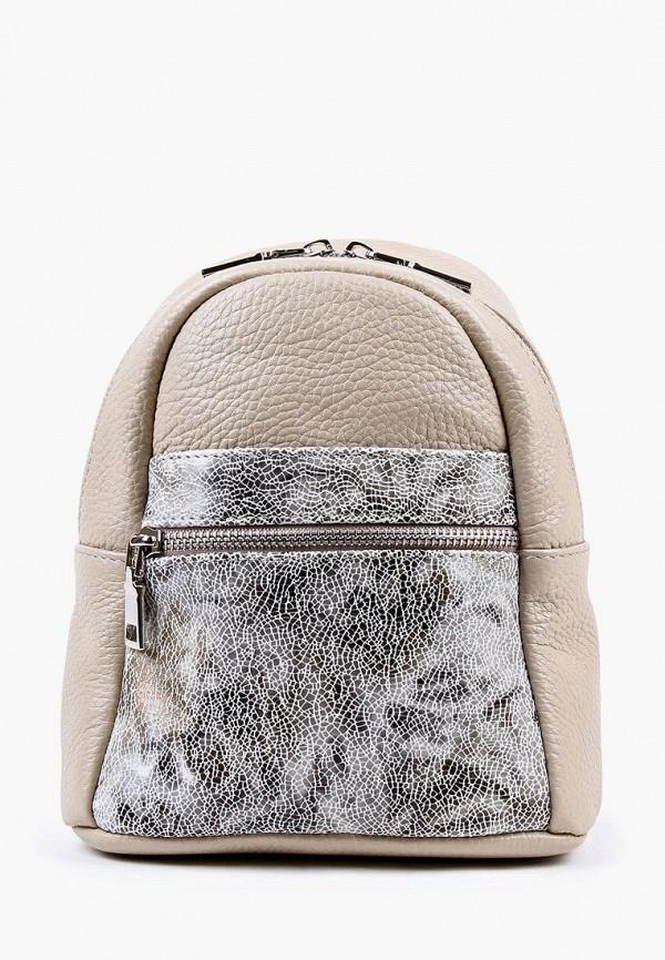 женский рюкзак медведково, бежевый