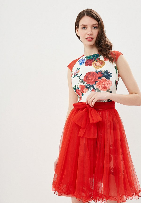 Фото 4 - Платье Disorelle красного цвета