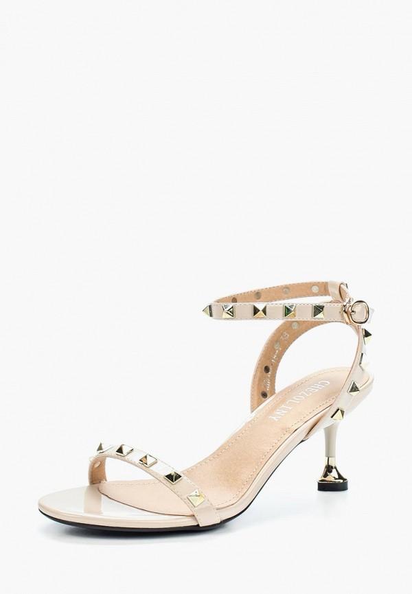 Босоножки Chezoliny Chezoliny MP002XW0XJO0 ботинки chezoliny ботинки