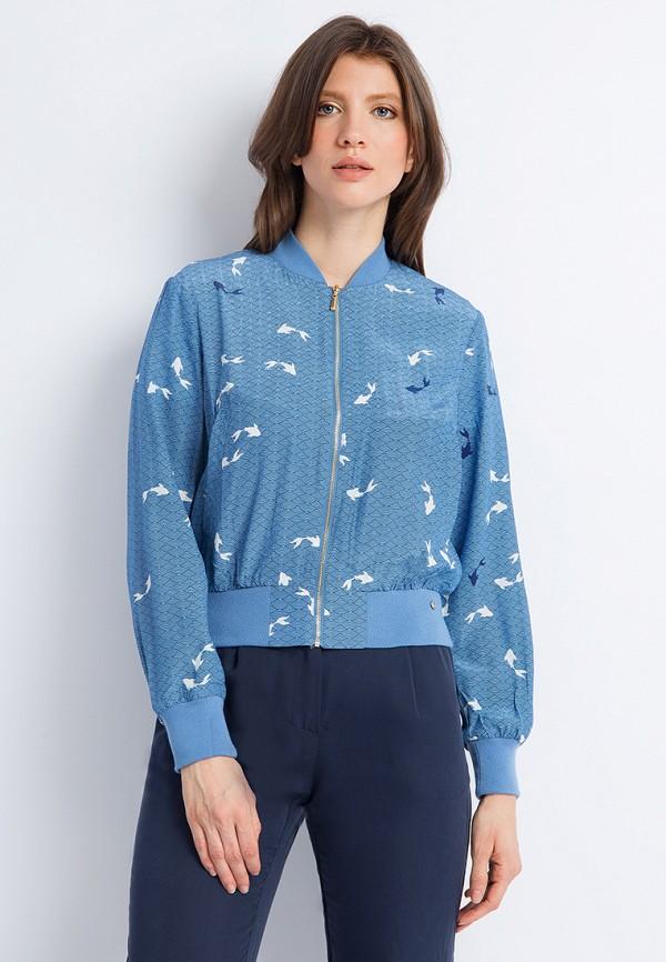 Куртка Finn Flare, MP002XW0XJV1, голубой, Весна-лето 2018  - купить со скидкой