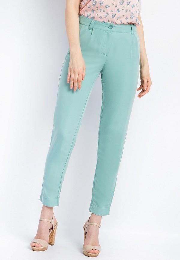 женские зауженные брюки finn flare, бирюзовые