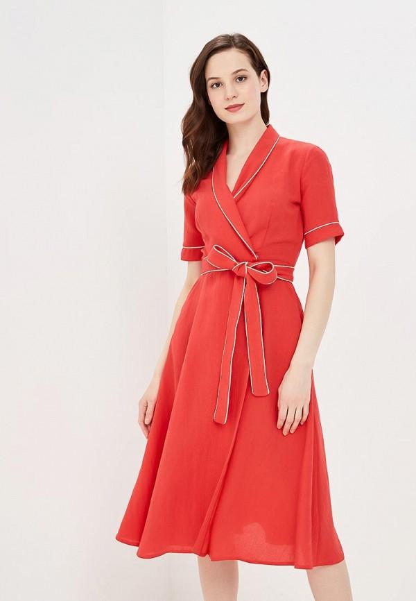 Купить Платье Villagi, MP002XW0XJXA, коралловый, Весна-лето 2018