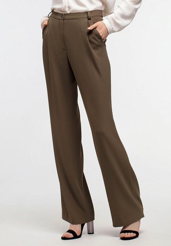 женские классические брюки aina manasheva, хаки