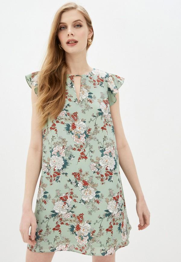 женское повседневные платье befree, бирюзовое