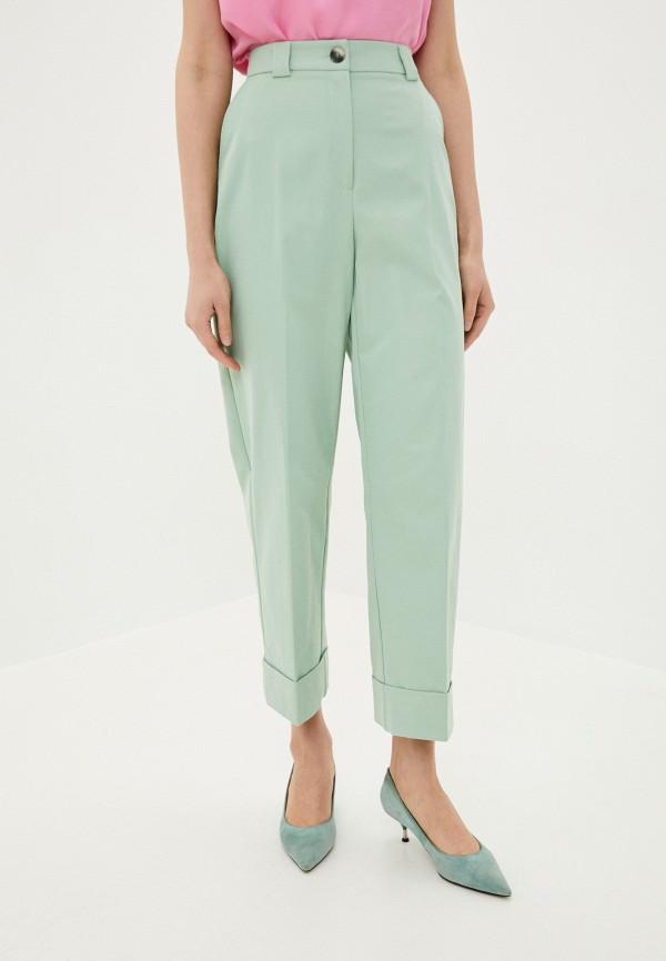 женские повседневные брюки befree, зеленые