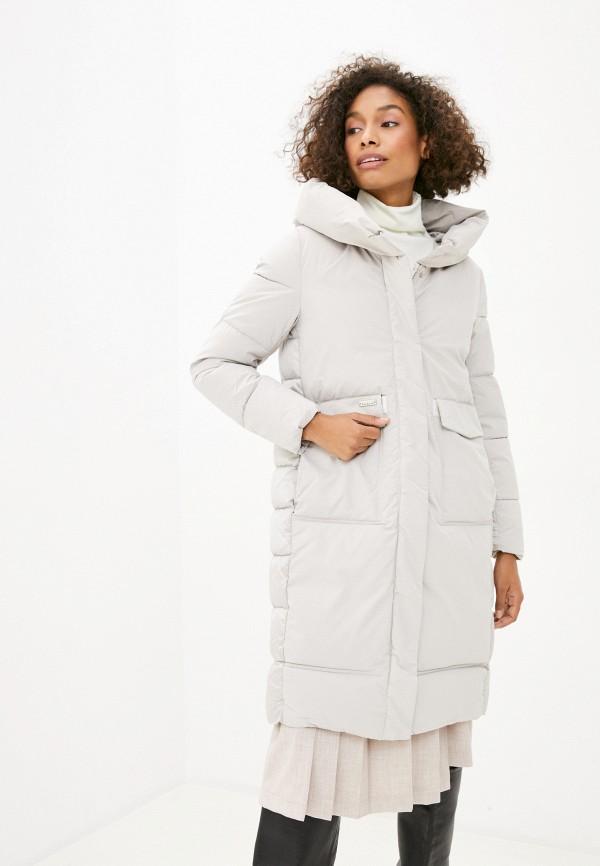 Куртка утепленная Fadjo бежевого цвета