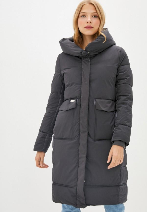 Куртка утепленная Fadjo серого цвета
