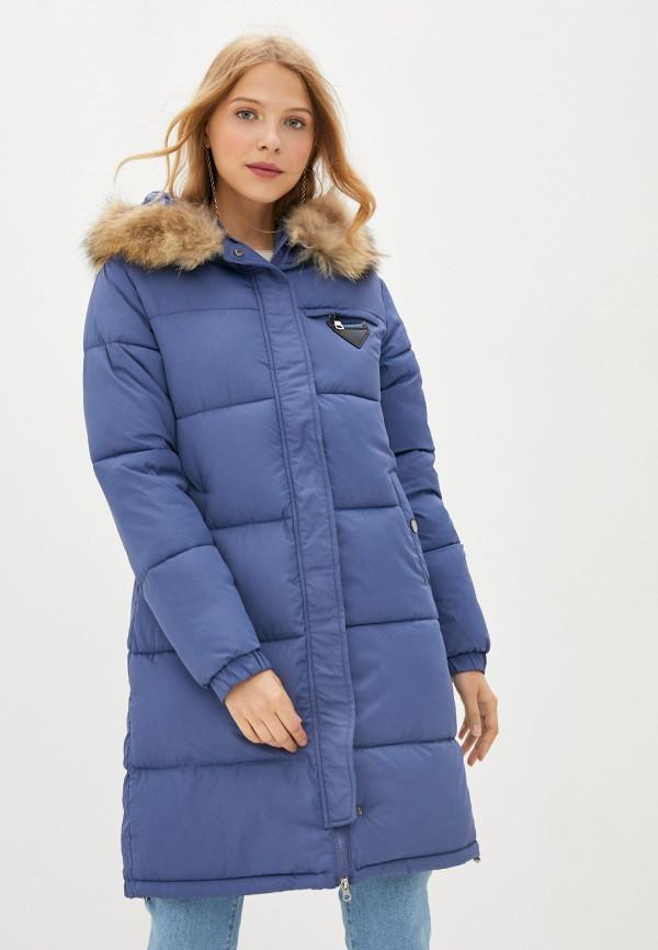 Куртка утепленная Fadjo синего цвета