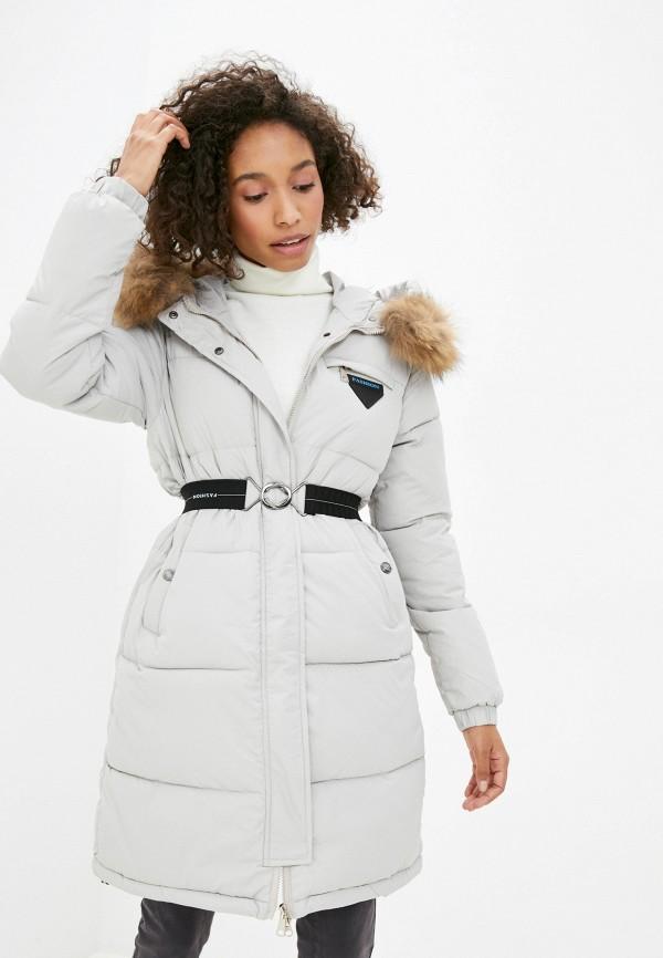 Куртка утепленная Fadjo белого цвета