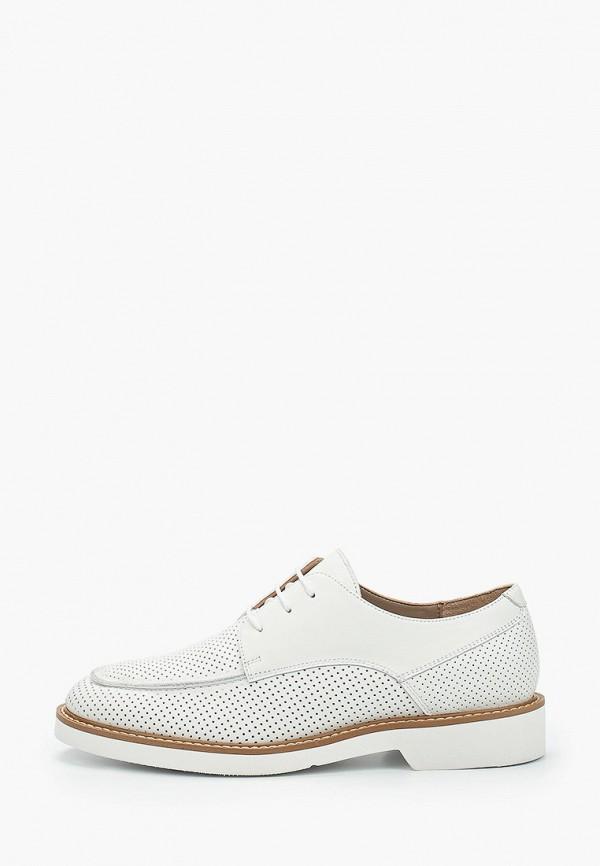женские ботинки-оксфорды boogie woogie, белые