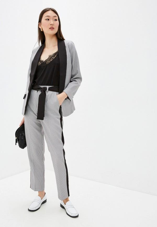 женский костюм silver fish, серый