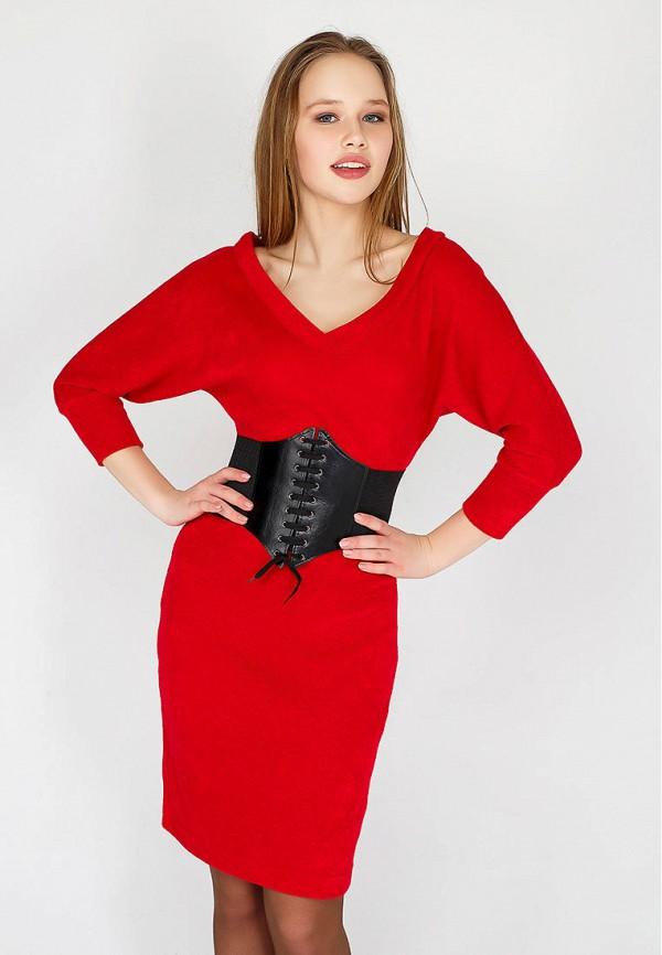 женское платье benoni, красное