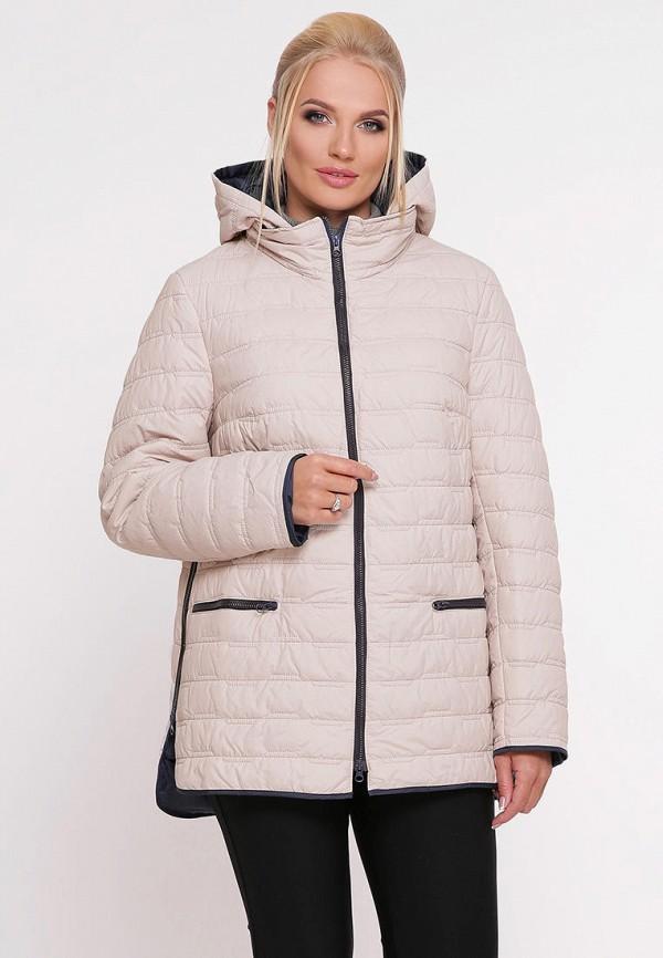 женская куртка vlavi, бежевая