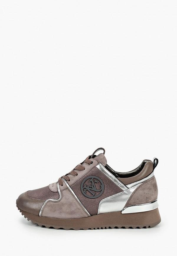 женские низкие кроссовки vitacci, бежевые