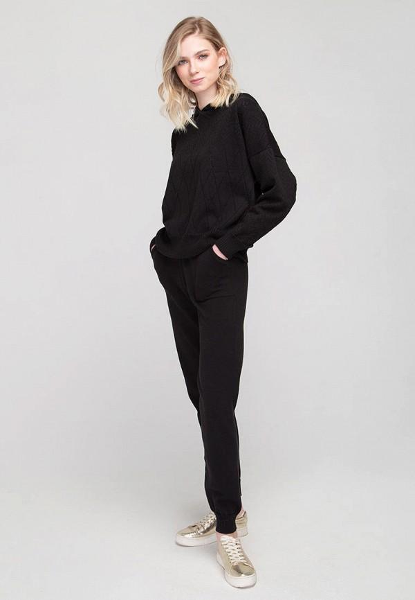 женский вязаные костюм fors, черный