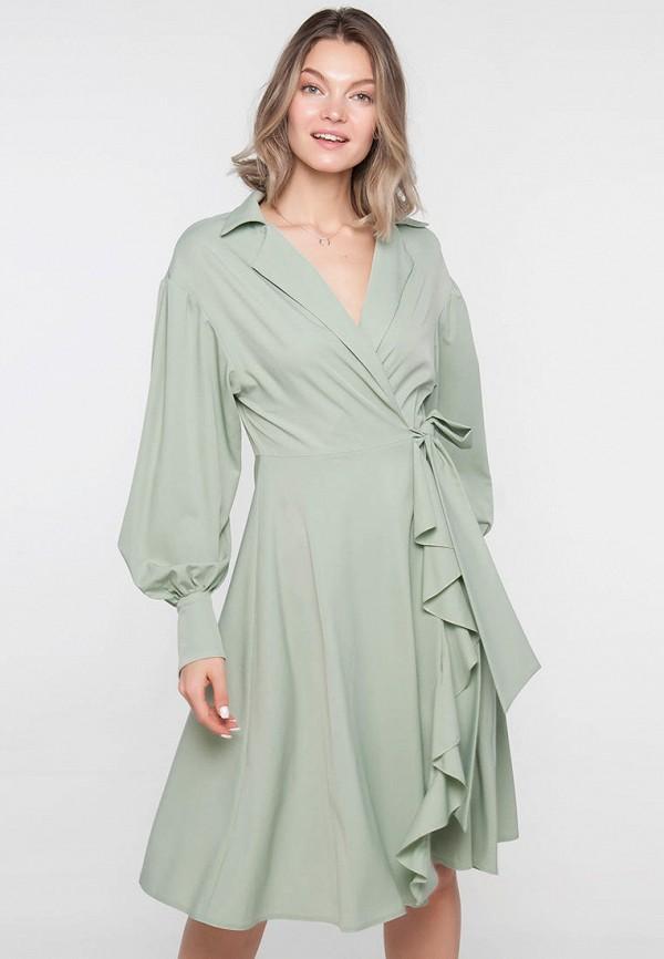 Платье Limonti зеленого цвета