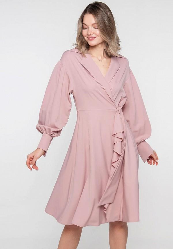 Платье Limonti розового цвета