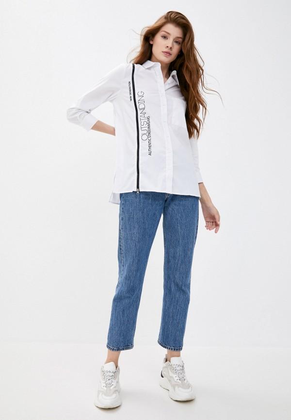 Рубашка Whitney цвет белый  Фото 2