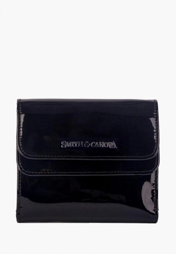 женский кошелёк smith&canova, черный