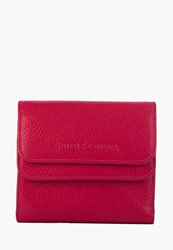 женский кошелёк smith&canova, розовый