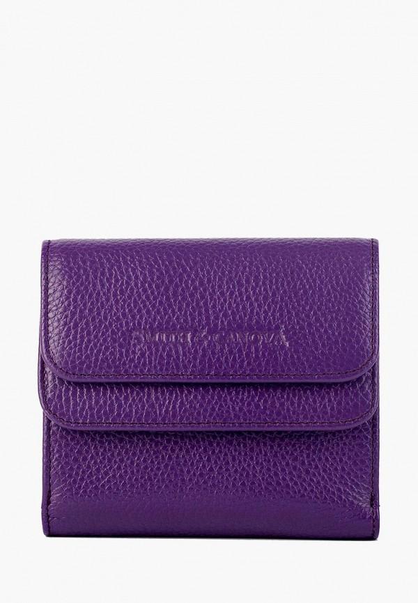 женский кошелёк smith&canova, фиолетовый