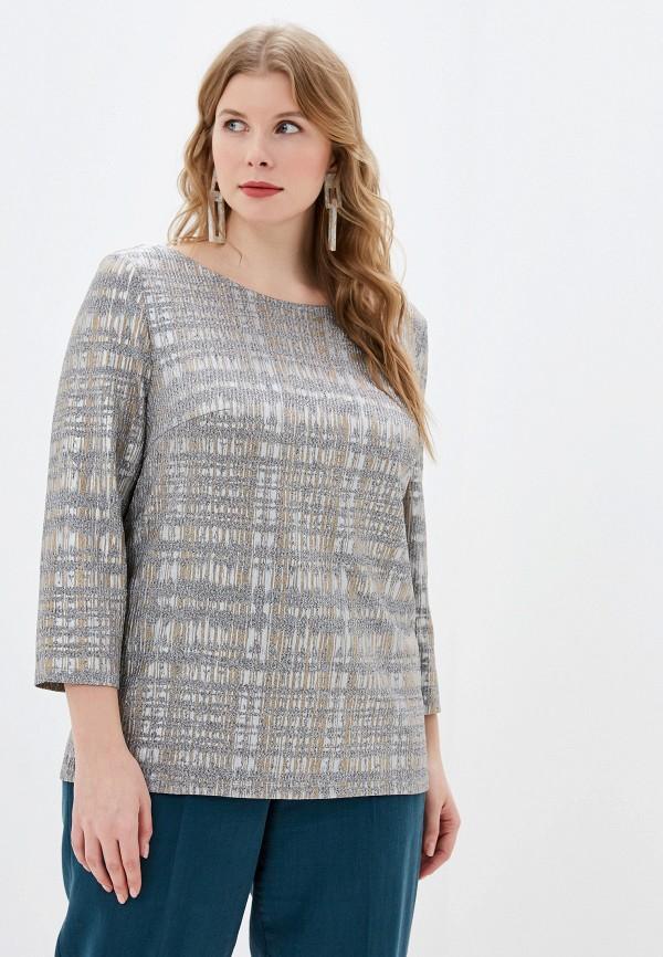 Фото - Женскую блузку Montebella Style серого цвета