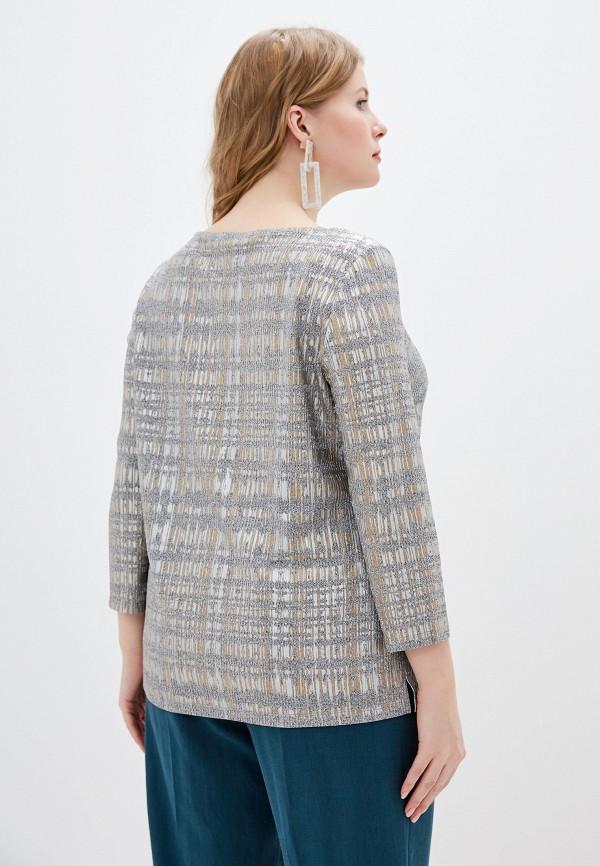 Фото 3 - Женскую блузку Montebella Style серого цвета