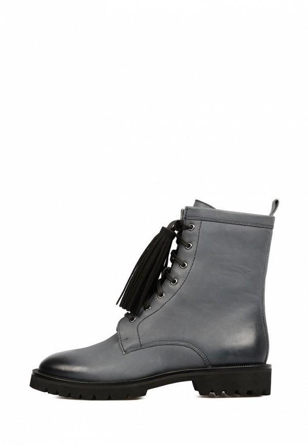 женские ботинки preppy, серые