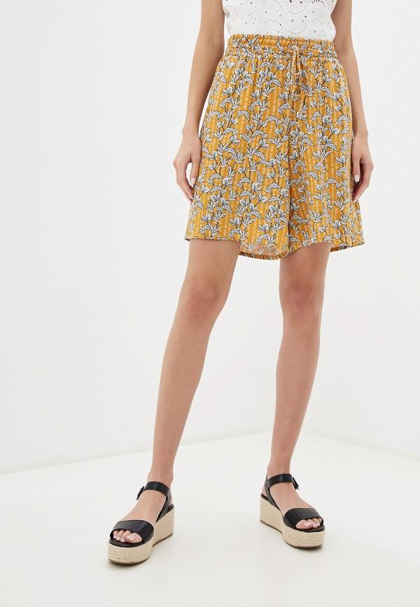 женские шорты lc waikiki, желтые