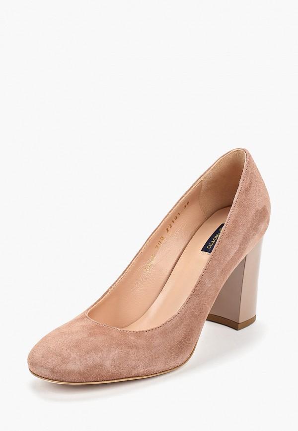 женские туфли giotto, коричневые