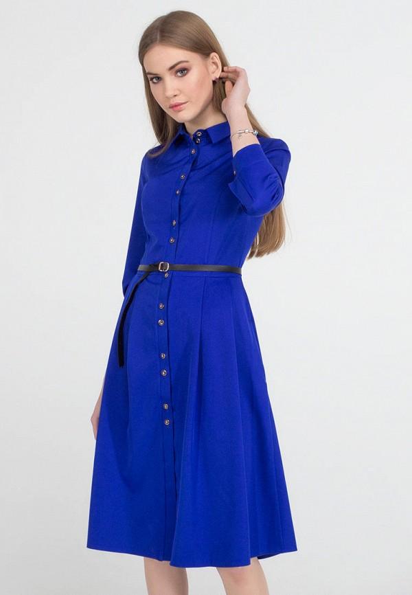 женское платье миди viravi wear, синее