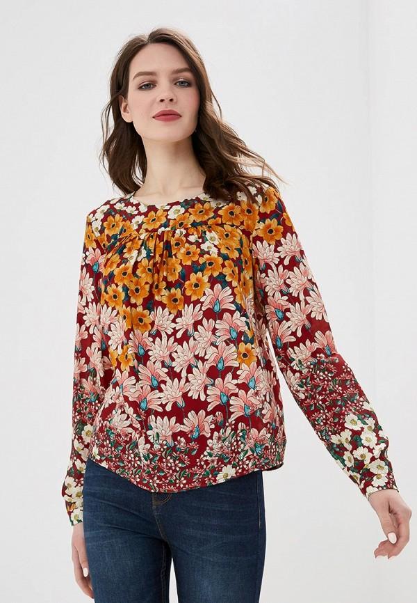 женская блузка top secret, разноцветная