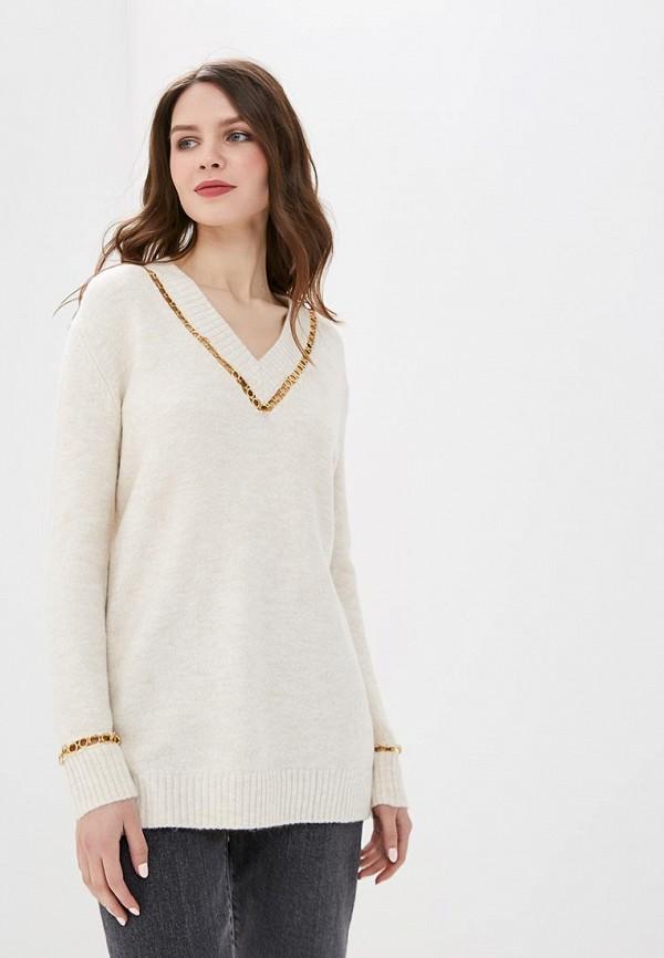женский пуловер top secret, бежевый