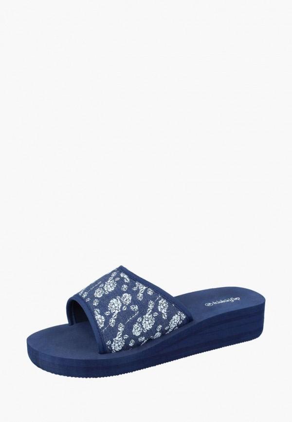 женские сланцы de fonseca, синие