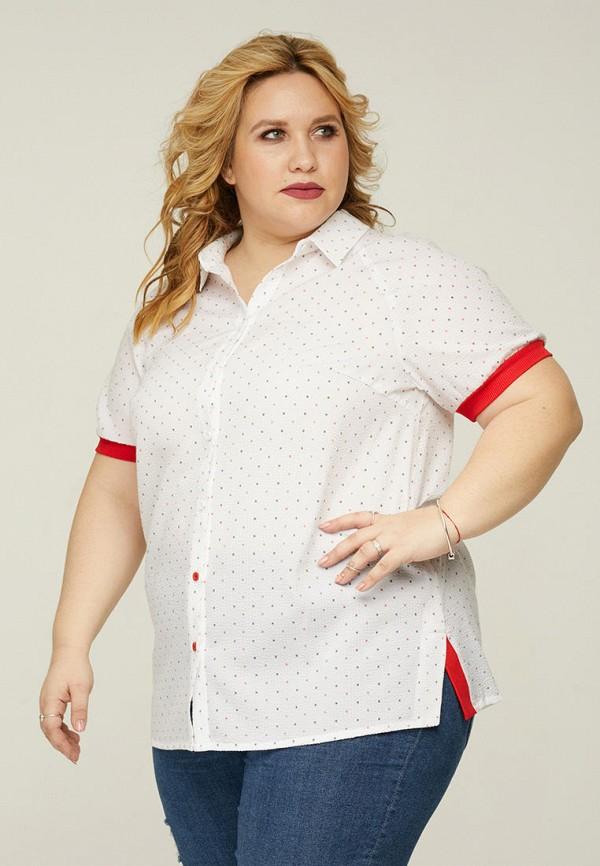 женская рубашка gorda bella, белая