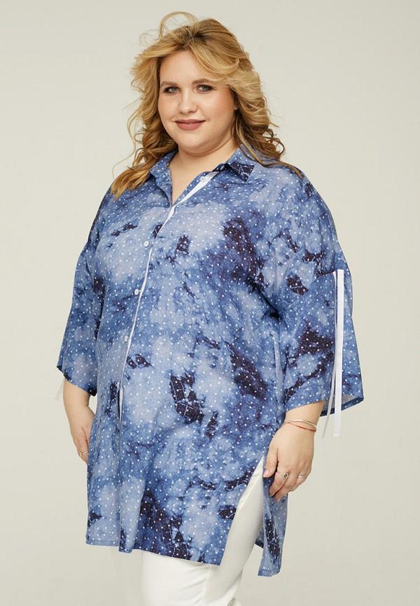 женская туника gorda bella, синяя