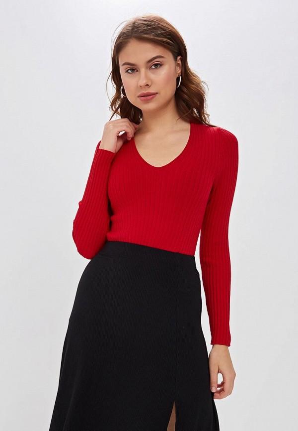 женский пуловер marytes, красный
