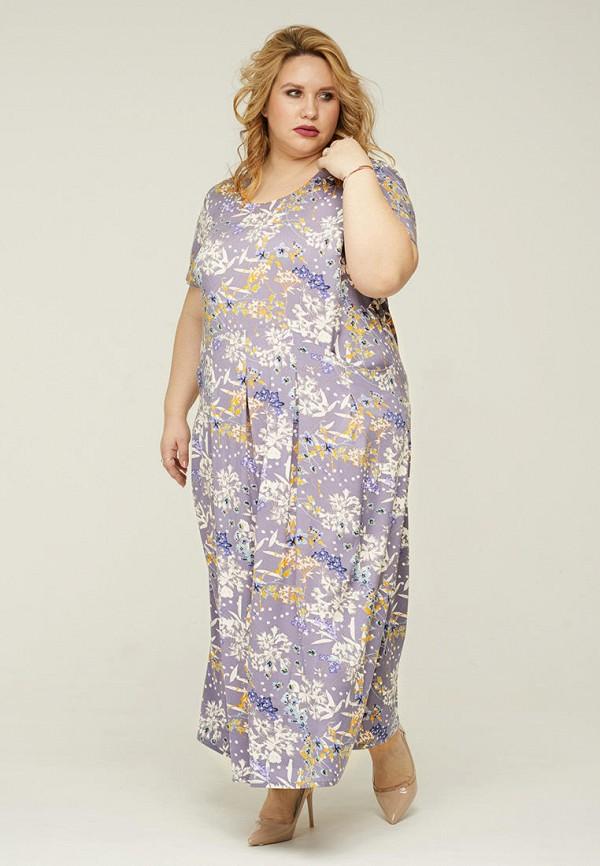 женское платье gorda bella, фиолетовое