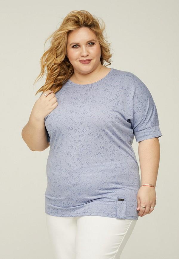 женская футболка gorda bella, голубая