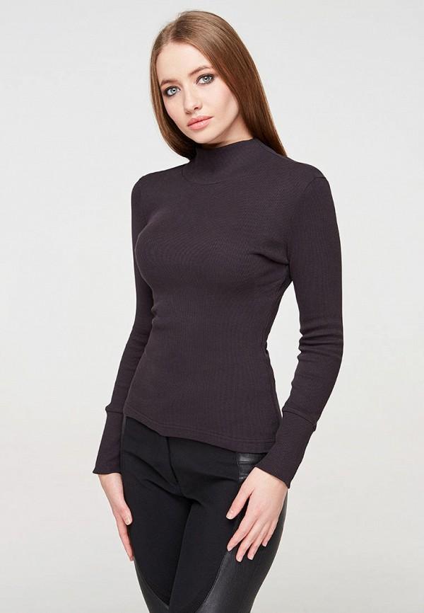 женская водолазка brunello de neri, черная