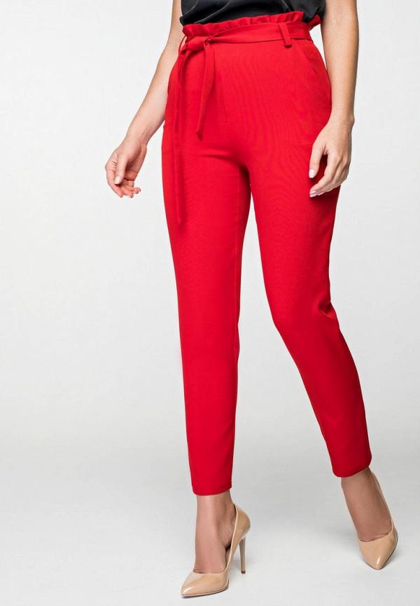 женские классические брюки itelle, красные