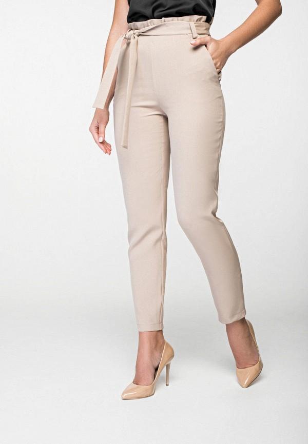 женские классические брюки itelle, бежевые